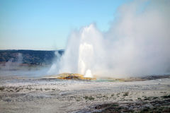 The beautiful caldera at yellowstone national park Royalty Free Stock Photos