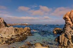 Beautiful California Coast Landscape Stock Photography