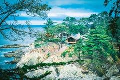 Beautiful California Coast Landscape Shot stock photography