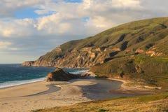 Beautiful California Coastline Stock Photography