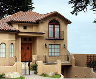 Beautiful california house Royalty Free Stock Images