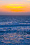 Beautiful California Sunset. Over Pacific Ocean stock photography