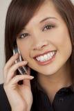 beautiful call phone στοκ φωτογραφία