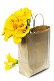 Beautiful calla lilies bouquet Stock Photography