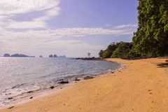 The beautiful and calm beach on shinty day, Yao Noi Islands, Phang Nga province, Thailand