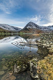 Beautiful Calm Reflections At Buttermere In The Lake District. Stock Photography