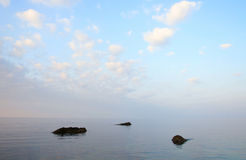 Beautiful calm sea Royalty Free Stock Images