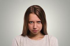 beautiful camera female looking angry girl Ελκυστικός εσείς Στοκ εικόνα με δικαίωμα ελεύθερης χρήσης