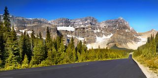Canadian Mountains, Scenic Landscapes Royalty Free Stock Photography