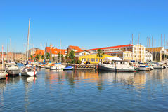 Beautiful canal in Copenhagen Royalty Free Stock Photos