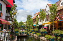 Beautiful canal at Mimosa Royalty Free Stock Photos
