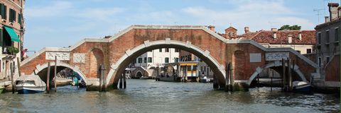 A beautiful canal of Venice Royalty Free Stock Photography