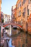 Beautiful canal in Venice Stock Photos
