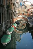 A beautiful canal of Venice Italy Royalty Free Stock Photo