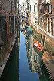A beautiful canal of Venice Italy Royalty Free Stock Photography