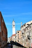 beautiful canal in Venice Royalty Free Stock Images