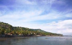 Beautiful Candidasa Bali, Indonesia Royalty Free Stock Images