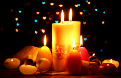 Beautiful candle Royalty Free Stock Photography