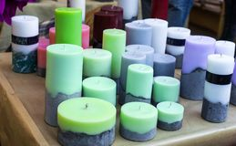 Beautiful Candles Royalty Free Stock Images