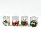 Beautiful candles isolated Stock Photos