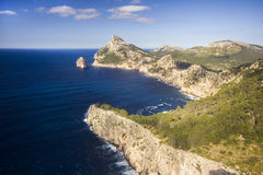 Beautiful Cap De Formentor On Maiorca Fotografie Stock