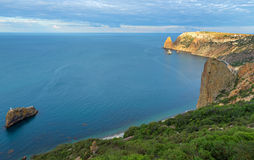 Beautiful Cape Fiolent. Royalty Free Stock Images
