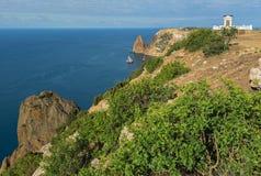 Beautiful Cape Fiolent. Stock Photos
