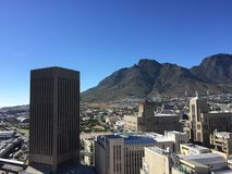 Beautiful cape town stock photography
