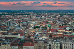 Beautiful Capital City of Budapest in Hungary royalty free stock photography