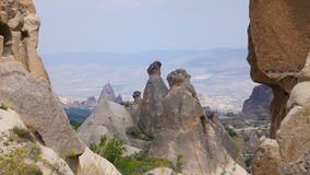 Beautiful Cappadocia lanscape stock footage