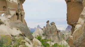 Beautiful Cappadocia lanscape stock video