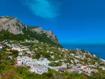 The beautiful Capri island Royalty Free Stock Images