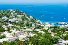 Beautiful Capri island Royalty Free Stock Photos