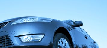 Beautiful car. Great details ! Royalty Free Stock Photography