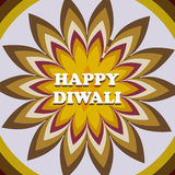 Beautiful card diwali rangoli colorful background Stock Photos
