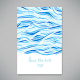 Beautiful card for invitation or announcement Stock Photo