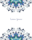 Beautiful card vector Stock Images