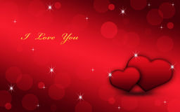 Beautiful card your loved one. Stock Image