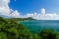 Beautiful Caribbean Bay Royalty Free Stock Image