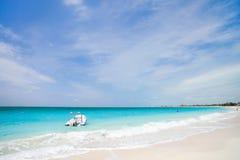 Beautiful Caribbean beach Royalty Free Stock Images