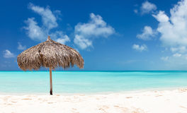 Beautiful Caribbean beach Stock Image