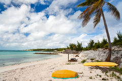 Beautiful Caribbean beach Stock Photos