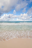 Beautiful Caribbean beach, Cancun, Mexico Stock Images