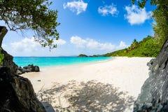 Beautiful Caribbean beach Royalty Free Stock Photography