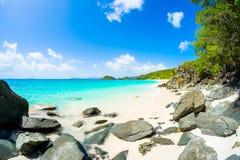 Beautiful Caribbean beach Royalty Free Stock Photo