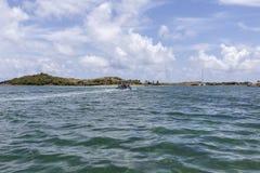 Beautiful Caribbean Beaches from Saint Martin, Sint Maarten Cari Royalty Free Stock Photography