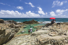 Beautiful Caribbean Beaches from Saint Martin, Sint Maarten Cari Stock Photography