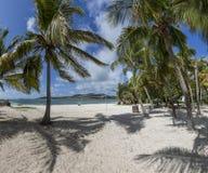 Beautiful Caribbean Beaches from Saint Martin, Sint Maarten Cari Royalty Free Stock Photo