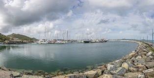 Beautiful Caribbean Beaches from Saint Martin, Sint Maarten Cari Royalty Free Stock Photos