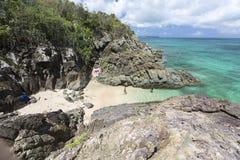 Beautiful Caribbean Beaches from Saint Martin, Sint Maarten Cari Royalty Free Stock Image